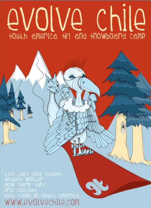 Evolve Chile Ski and Snowboard Camp