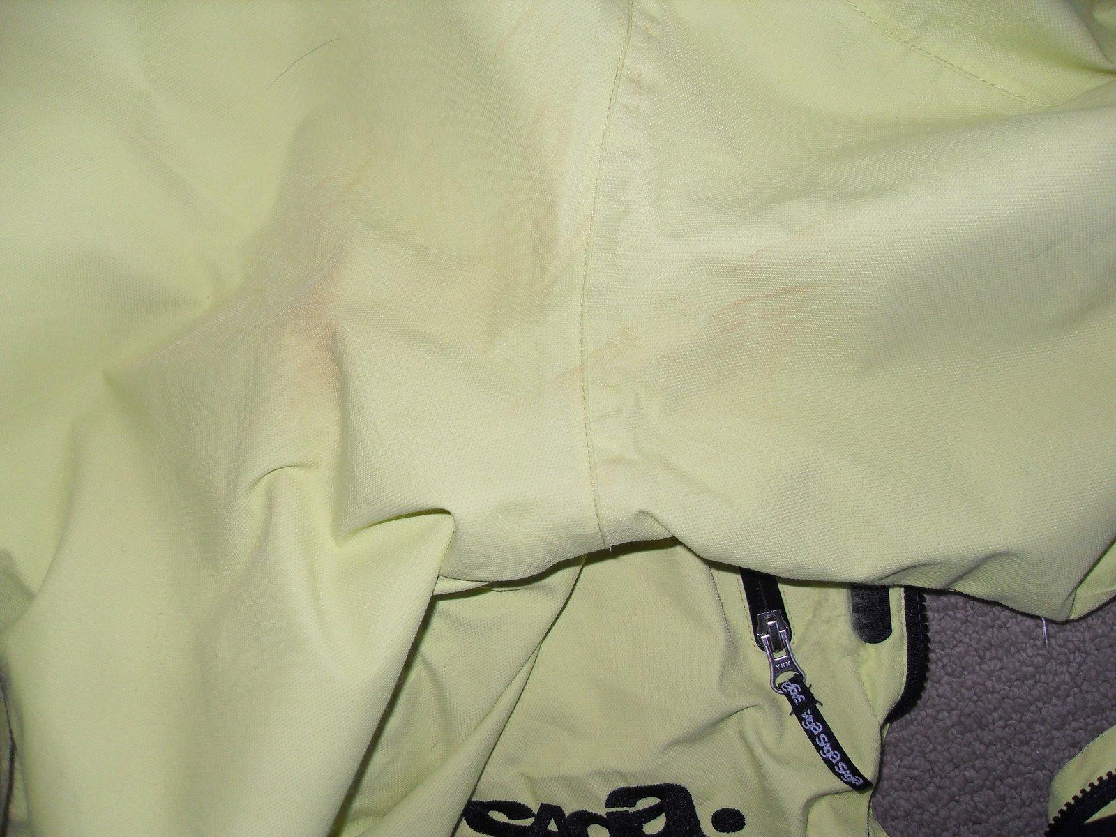 Rail stain