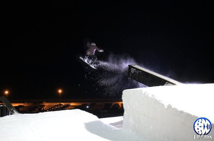 Me hitting Cannon launch at bmbw