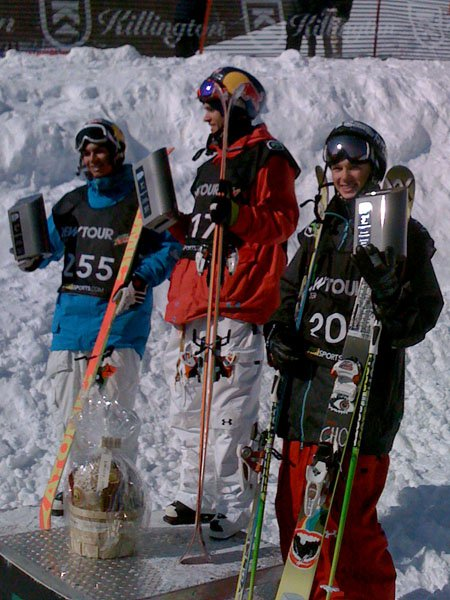 Bobby Brown takes 1st,Elias Ambuhl in 2nd and Goepper takes 3rd!