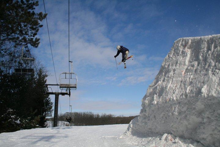 Tyrol basin's new jump!