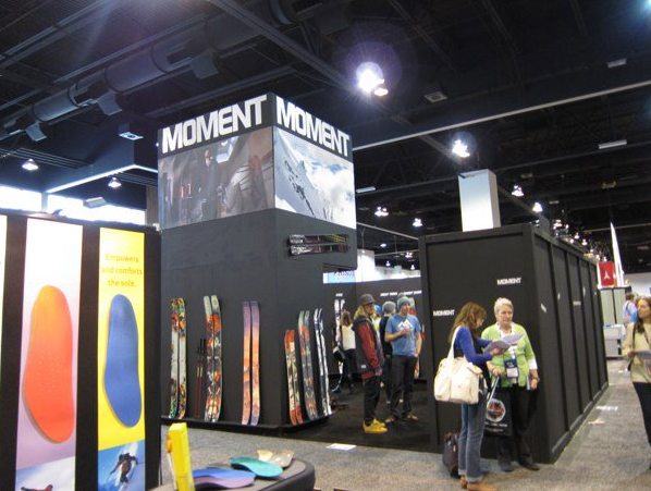 Moment booth SIA 2011