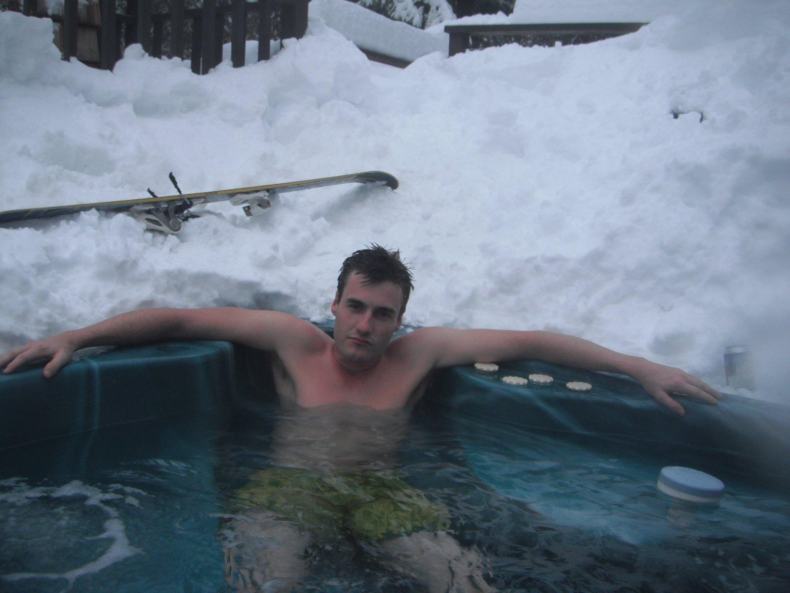 Hot Tub in Whistler