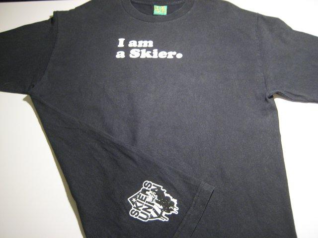 Line I Am A Skier T-Shirt