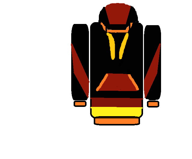 Custom hoodie front