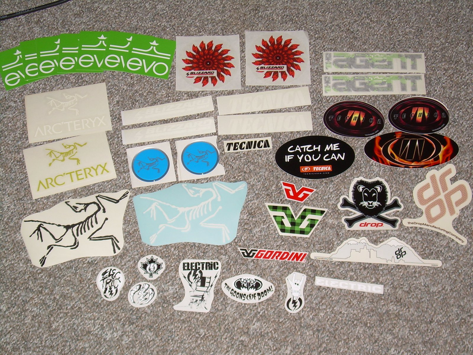 First sticker delivery