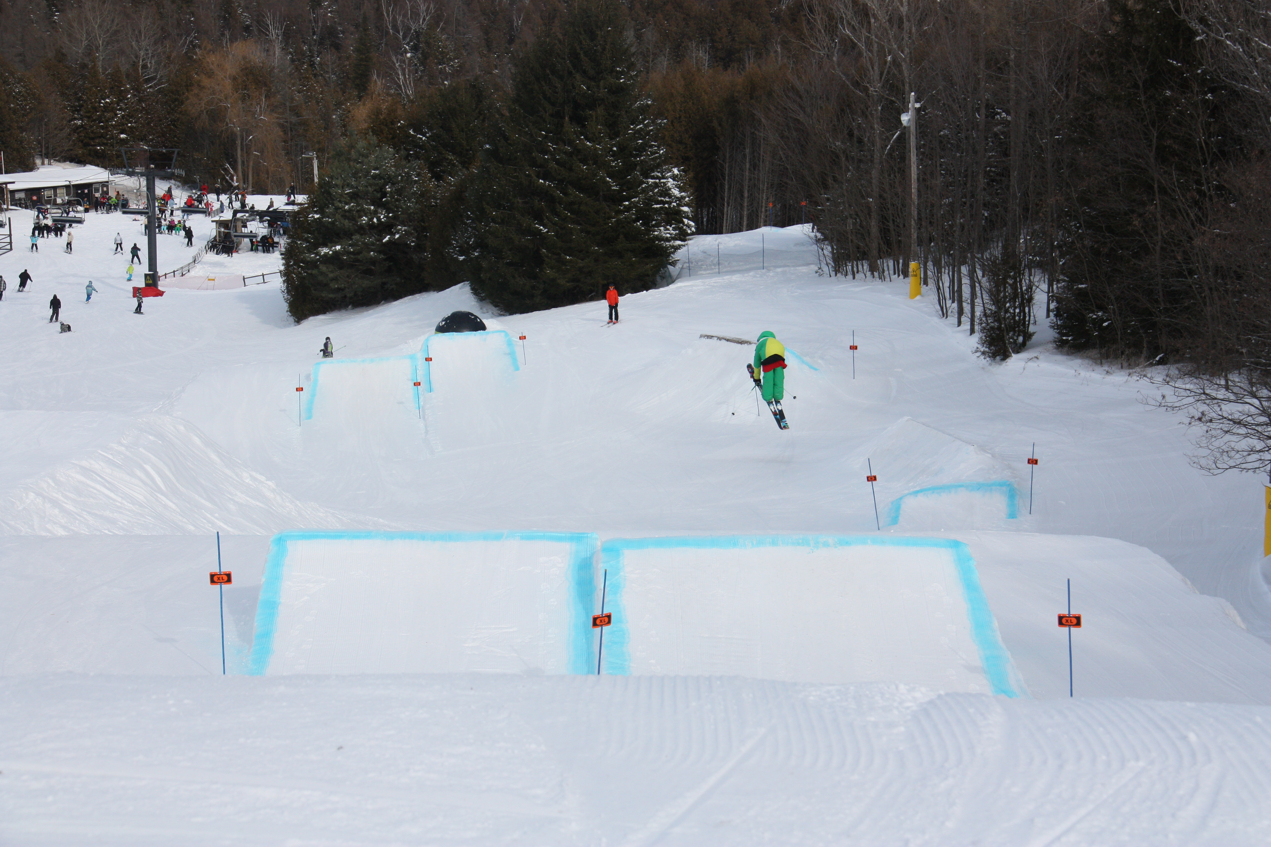 Brimacombe lower section jump line