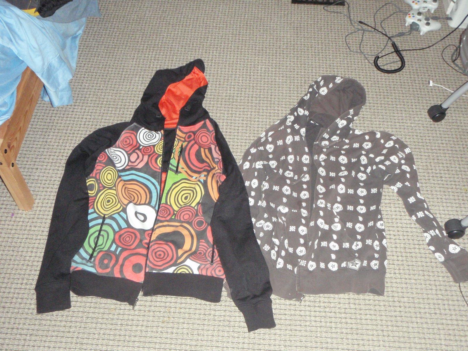 Large sweatshirts