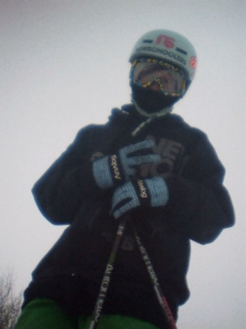 Me at my hill