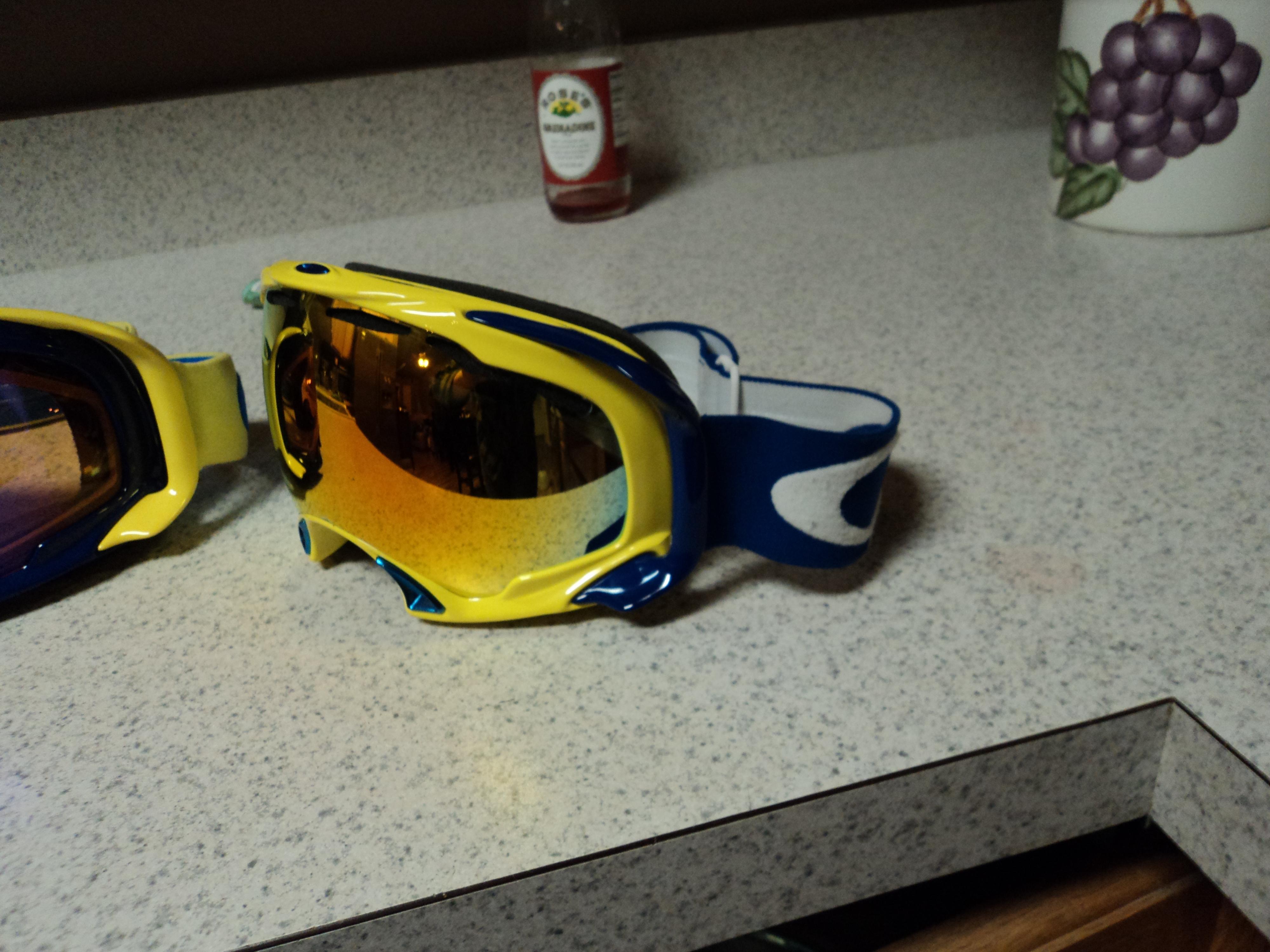 Custom goggles