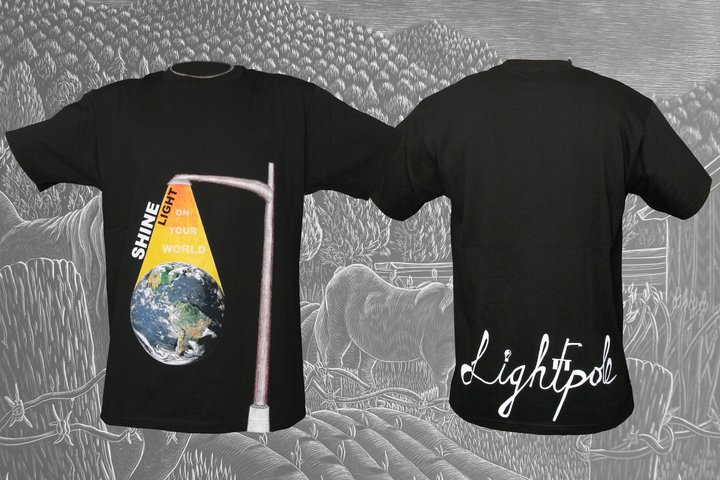 Shine Light Tshirt Black