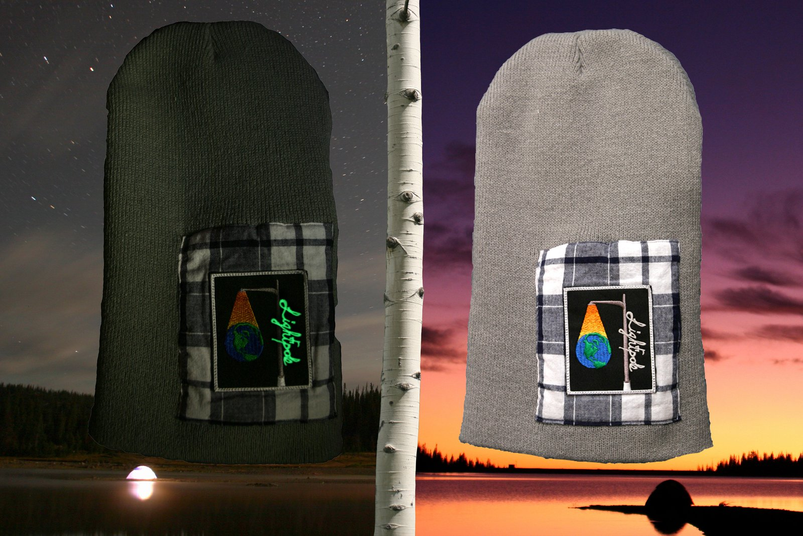 Glow Beanie, detailed view
