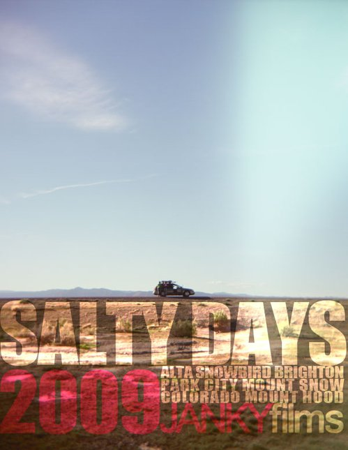 Salty Days Back Cover