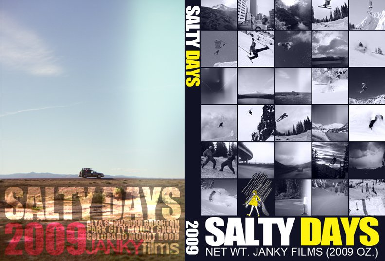 Salty Days DVD Cover