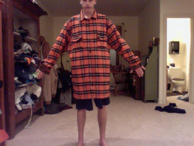 4xl Auburn Flannel FTT/FS