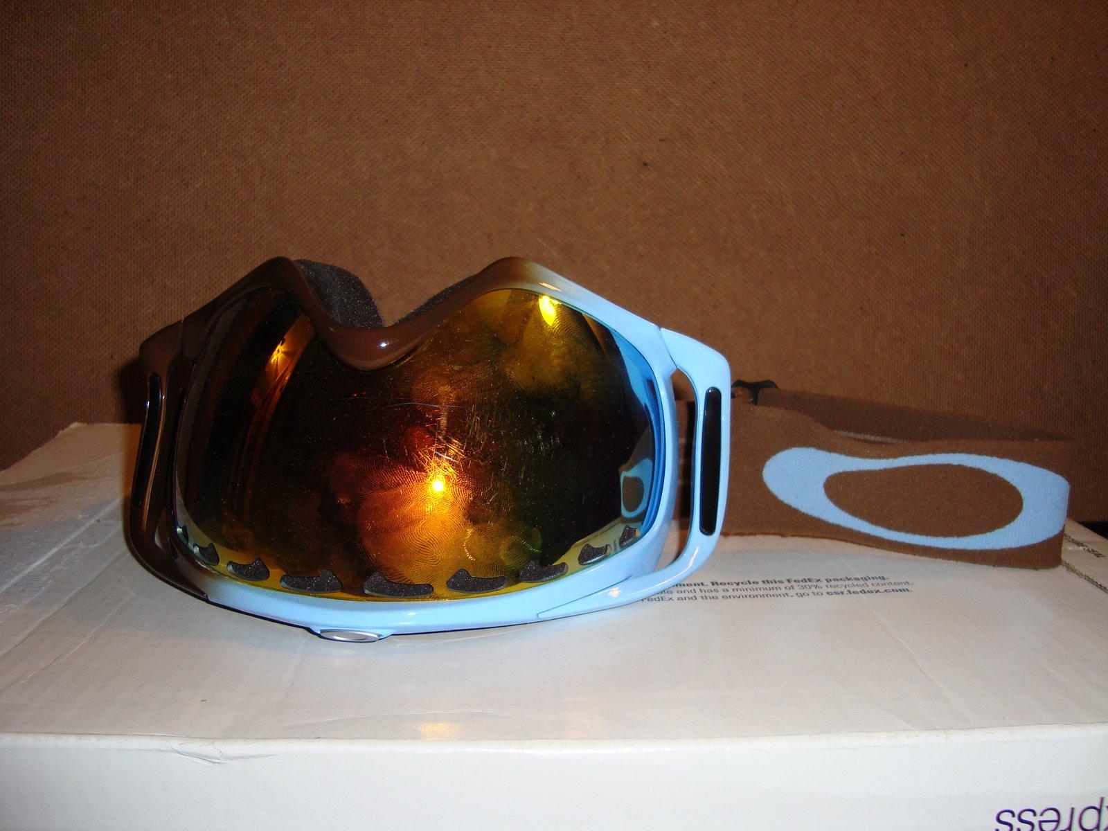 Blue to Brown Fade Cbars Fire Iridium