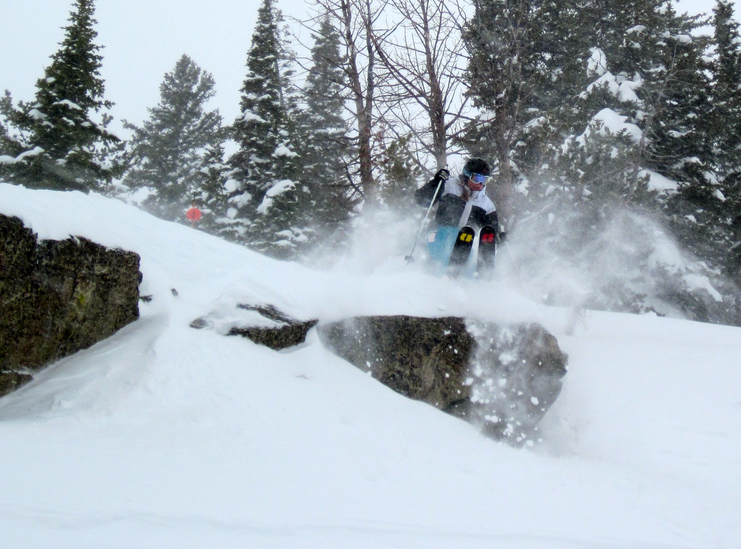 Jackson Hole powder playtime