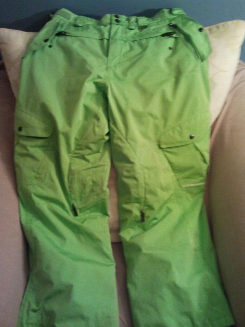 Green monster pants