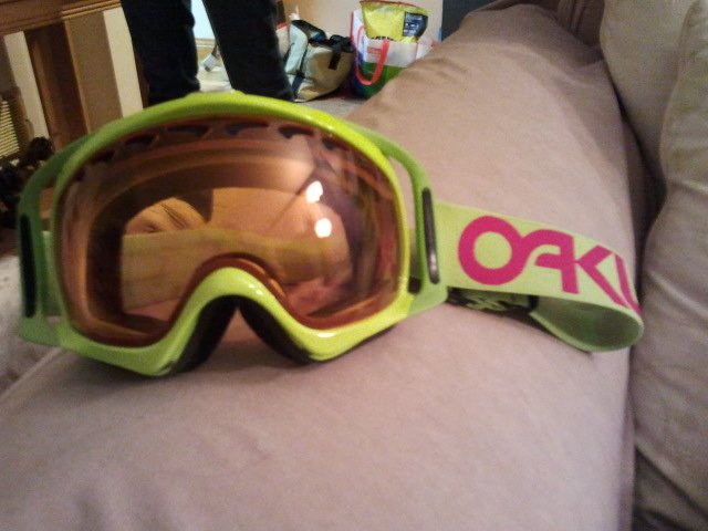 Green monster goggles