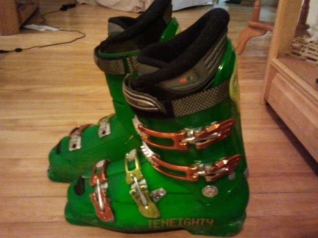 Green monster boots