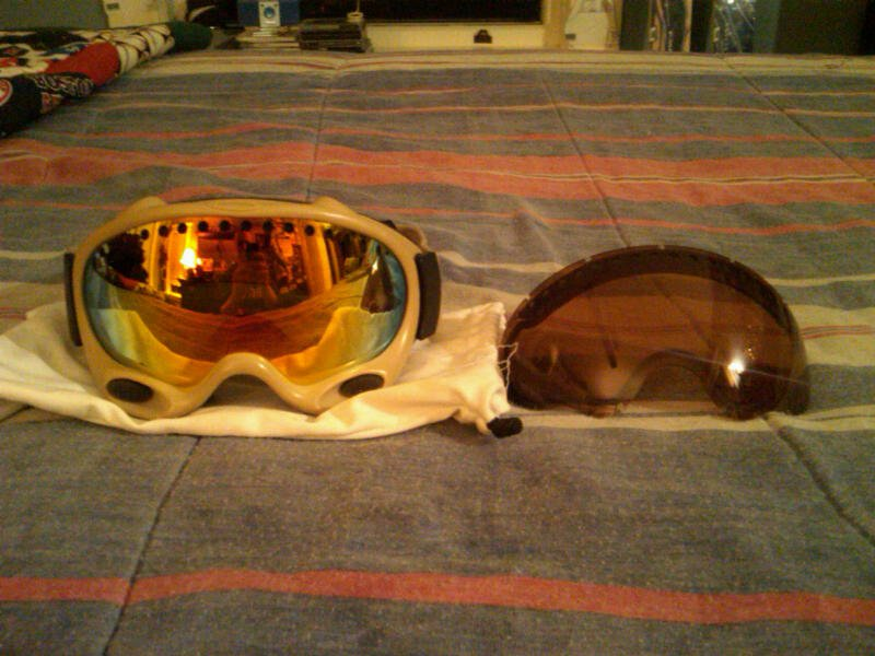 Oakley A-Frame goggles