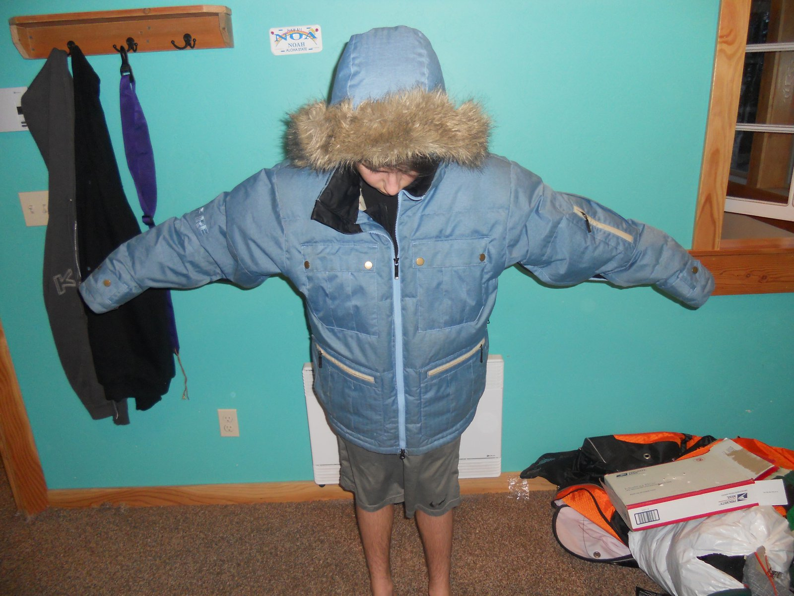 Bonfire jacket medium 160 w/ shipping