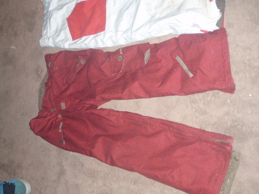 Front of cappel pants