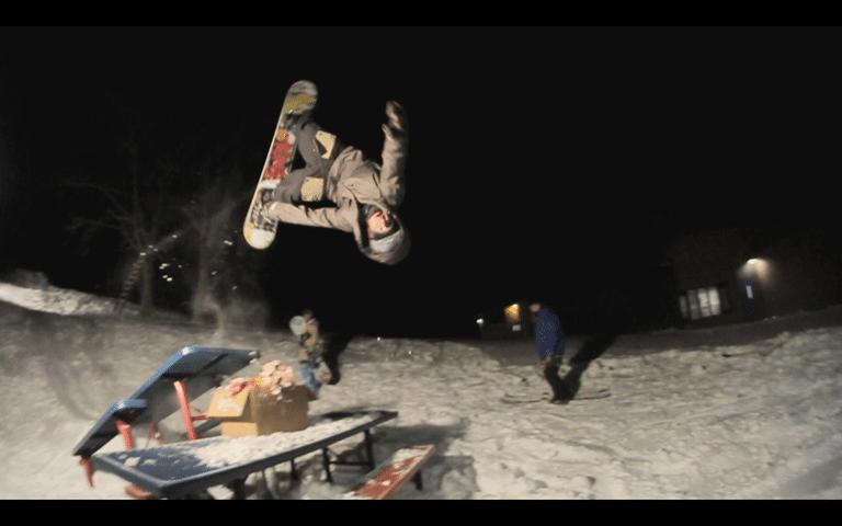 Joey Dryer table jam front flip