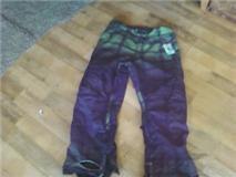 Burton pants.