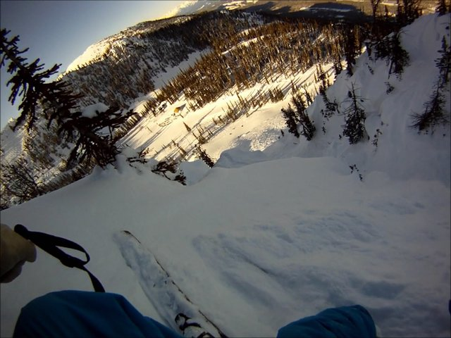 Kicking horse comp area