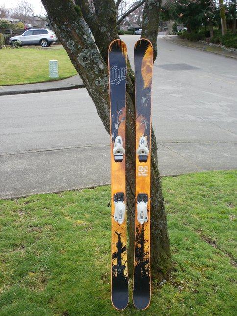 My kid skis/ line chronic