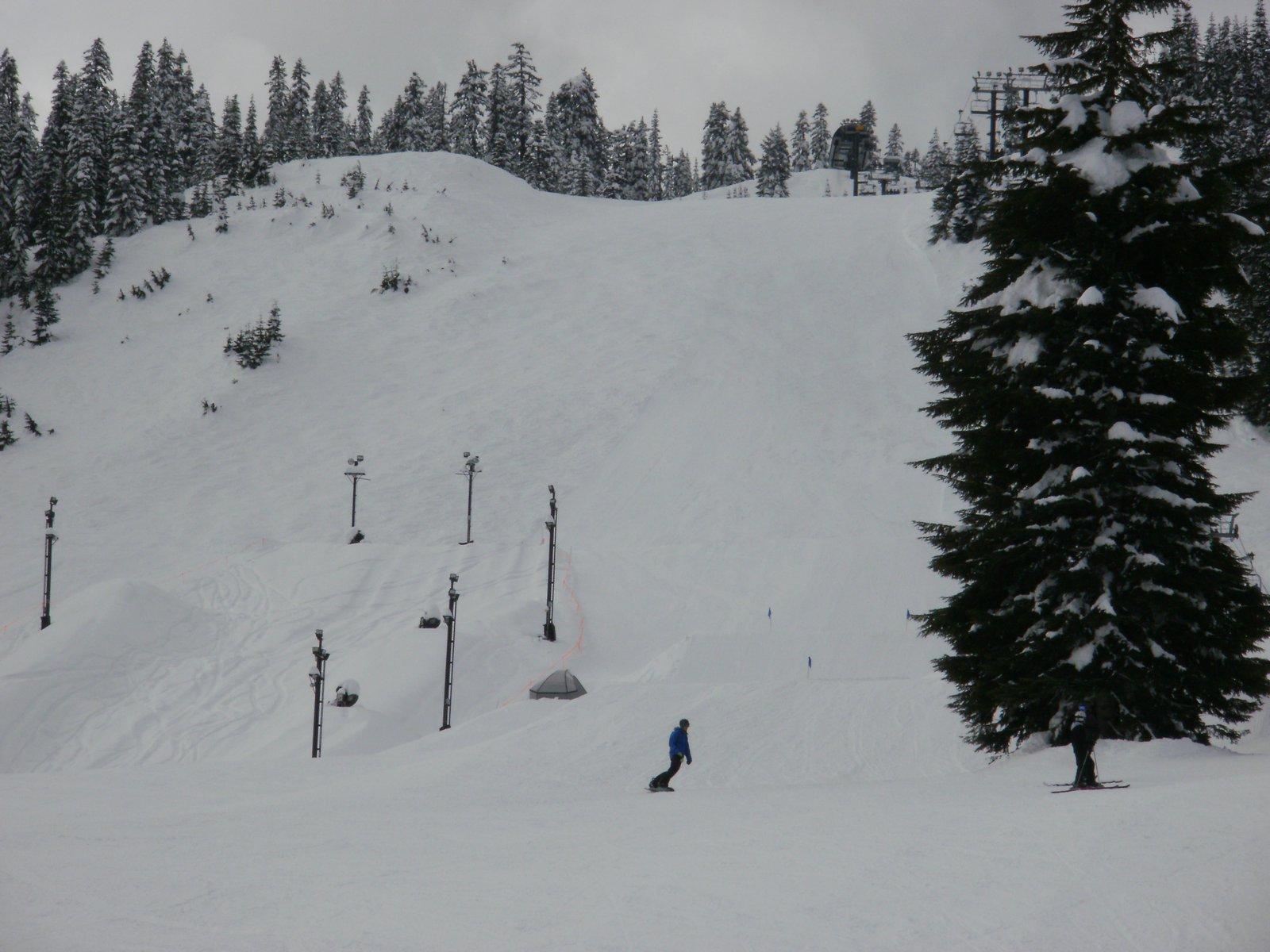 The summit half pipe