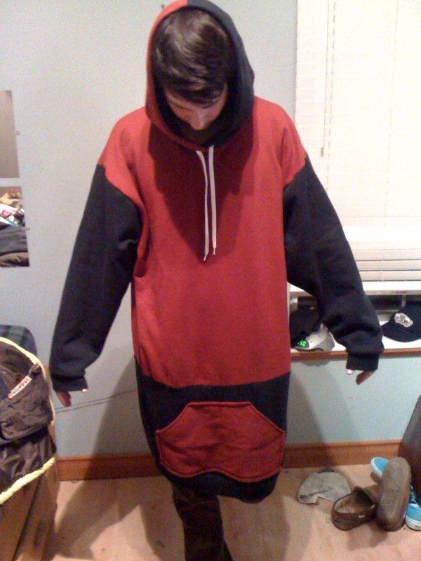Tall ass hoodie