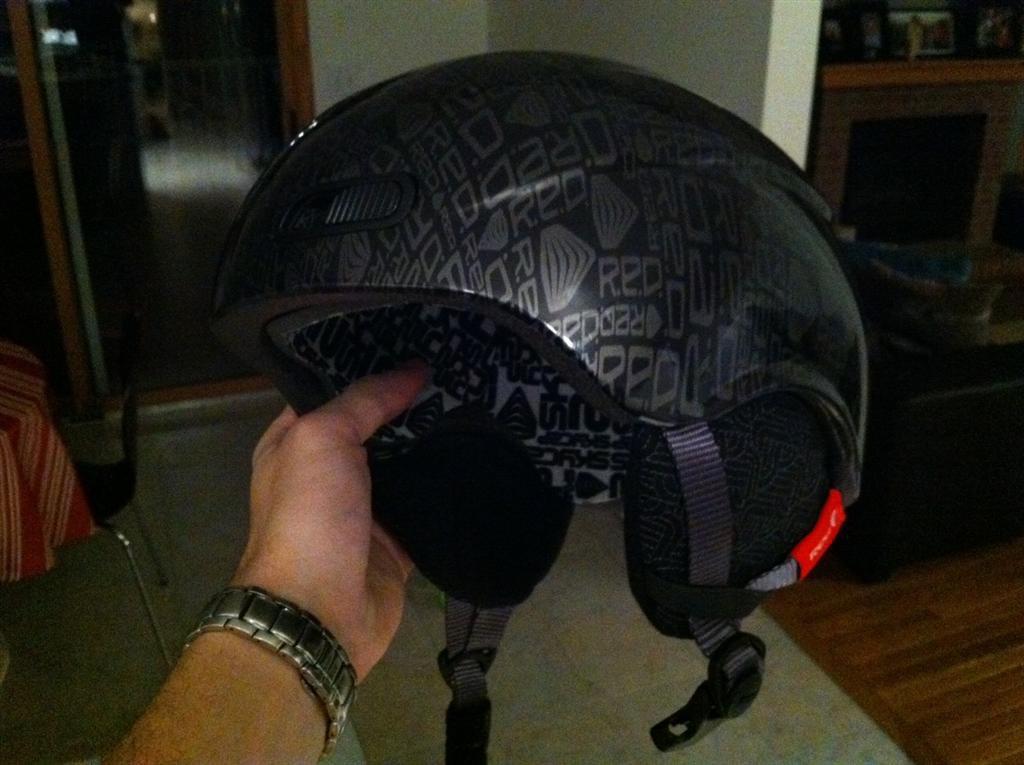 RED Skycap II Helmet FS - Side