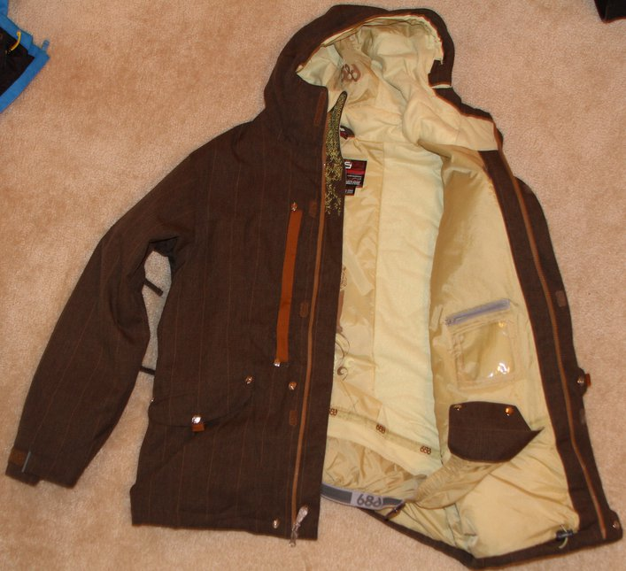 686 Jacket Brown Medium