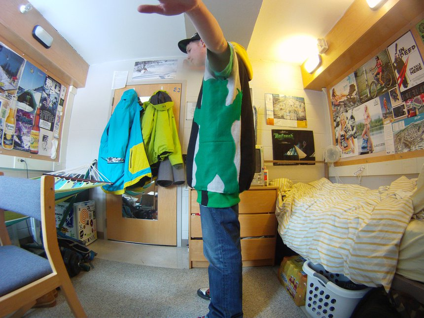 Home made reversible vest side 2