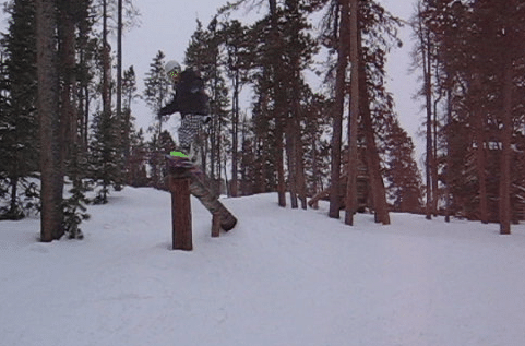 Keystone, some tree jibs :)