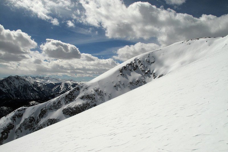 East Face of Buffalo Mountain, CO