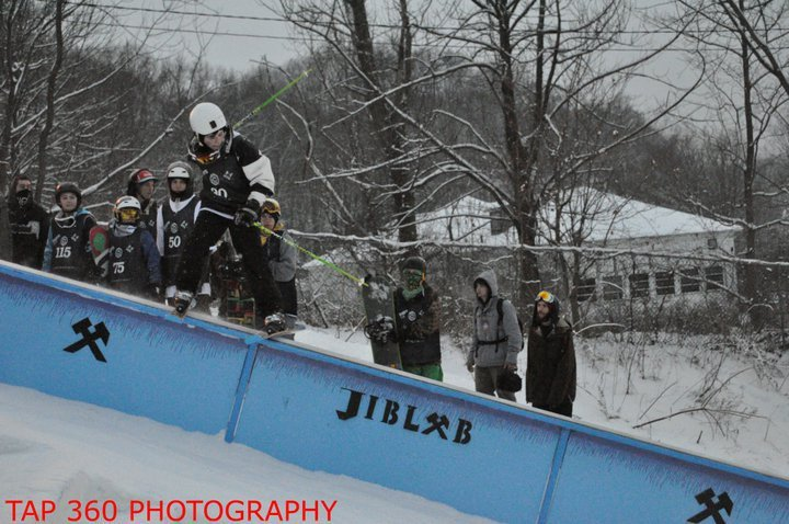 Mt Creek 3rd Rail Jam