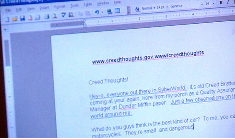 Creedthoughts