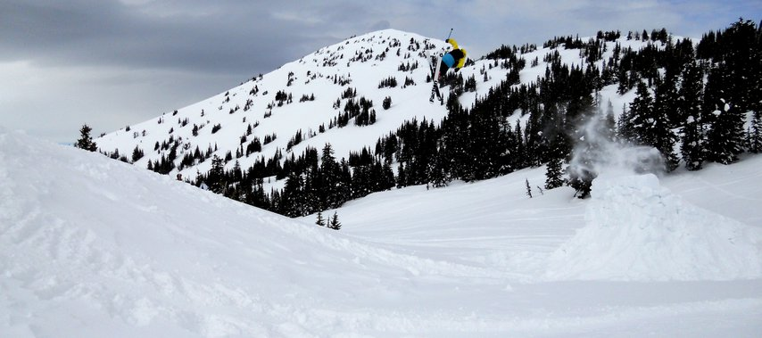 Booter at Grand Targhee