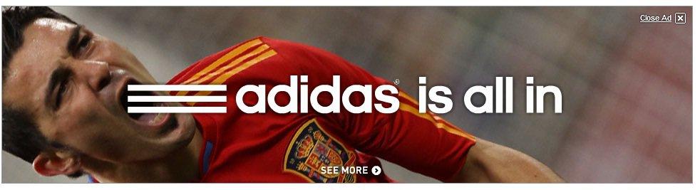 Adidas is dirrty