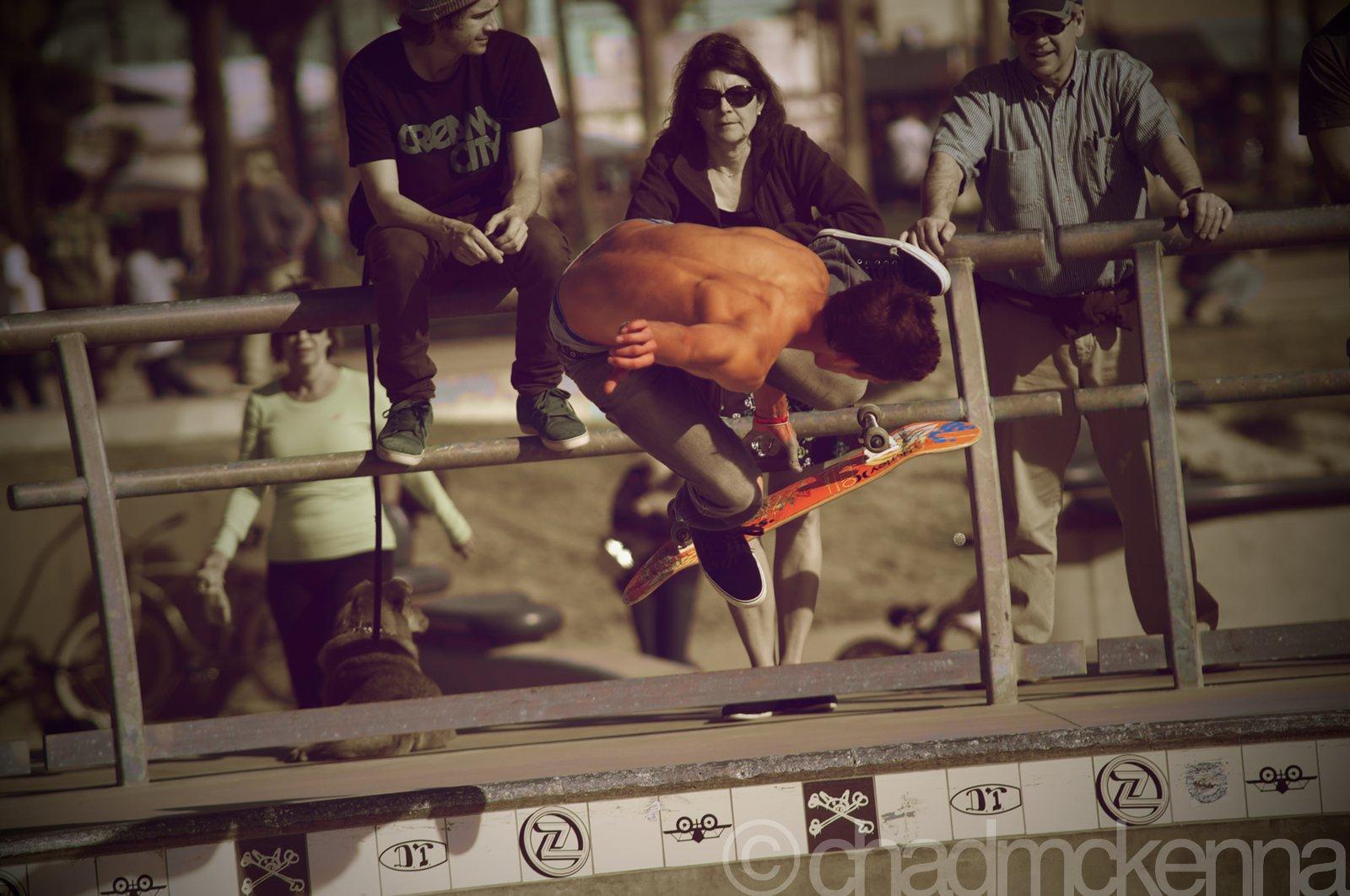 Kickflip to Melon