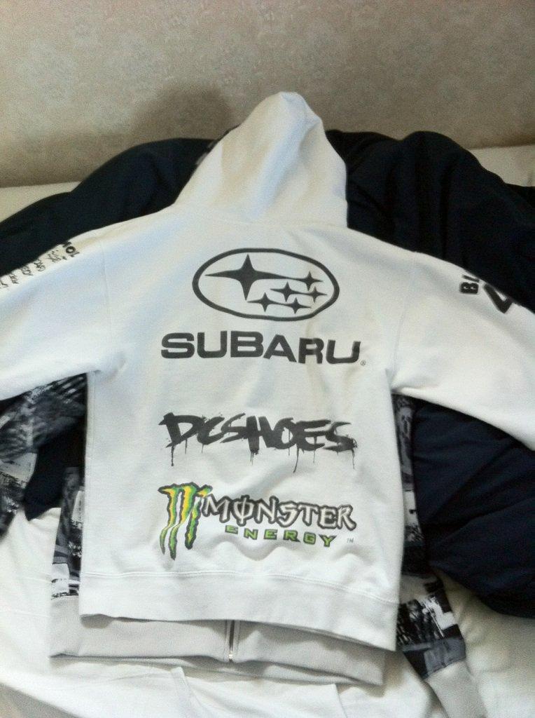 Monster hoodie fs