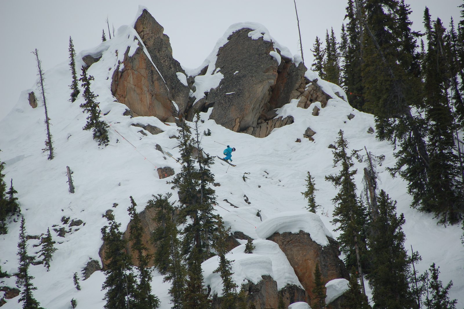 Junior Freeskiing tour in Crested butte