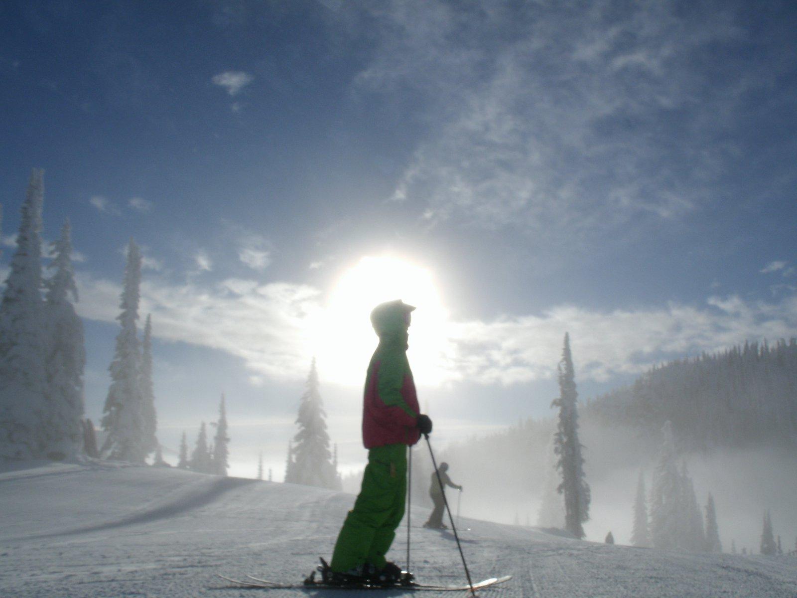 Ski god