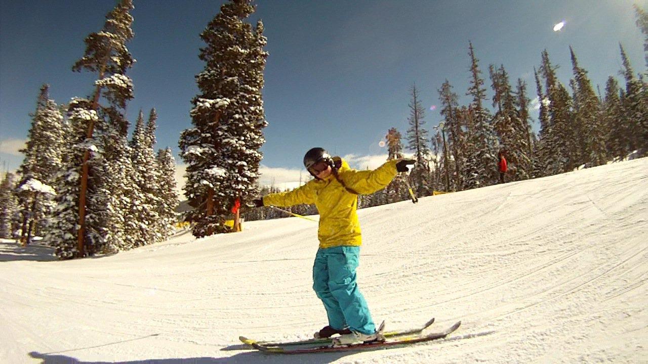 Jus Skiing!