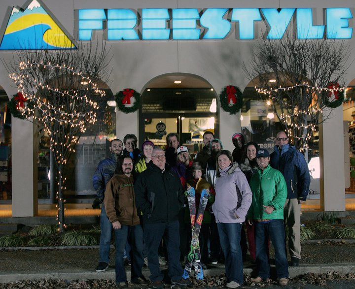 Freestyle Ski Shop Employee Photo