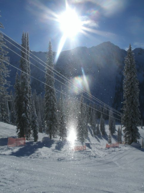 Snow glow