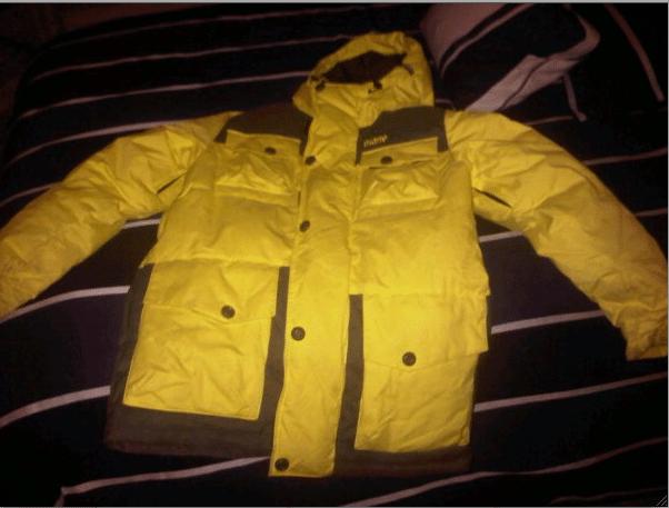 Selling a 2010 Phil Casabon Yellow Orage Jacket